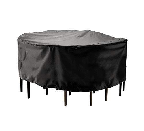 Multifunctionele Heavy-duty waterdichte outdoor meubels stofkap ronde tuintafel en stoel bed grote zonnekap anti-grijze zonnebrandcrème regendichte sofa cover ademende tool cover multi-size grote