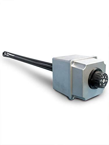 Resistencia eléctrica blindada trifásica con termostato para acumulaciones hervidoras calentadoras de agua...