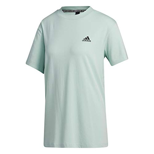 adidas W MH 3S SS tee Camiseta, Mujer, matver, XS
