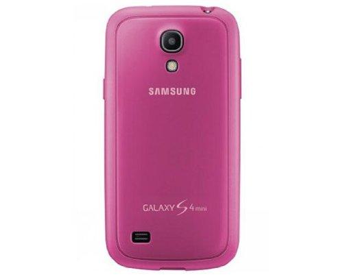 Samsung Schutzhülle Case Cover für Galaxy S4 Mini - Pink