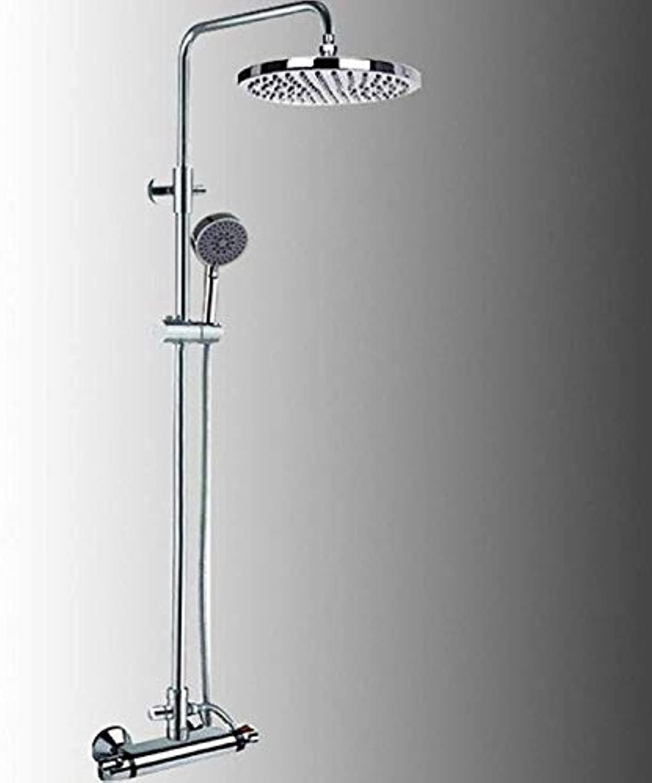 Runde Dusche Kupfer Duschset Hei Und Kalt Konstante Temperatur Aufgeladen UltradüNn Mit Aufzug Dusche Hand Bad.