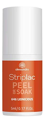 alessandro Striplac Peel or Soak Lionicious - LED Nagellack, 5 ml