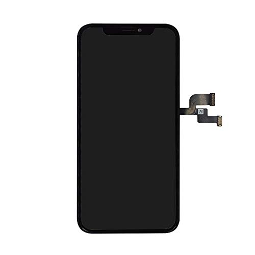 Smartex Display in-Cell Compatibile con iPhone X/Schermo Nero