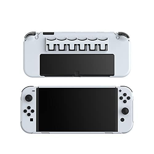 TwiHill O Escudo Protetor All-in-one é Adequado Para O Console Nintendo Switch OLED, O Console Nintendo Switch OLED Pode Armazenar Cartões De Jogo No Escudo Protetor Do PC