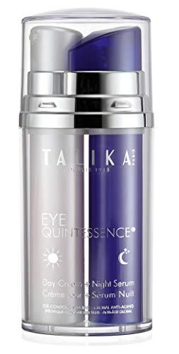 Eye Quintessence - Talika - Tratamiento doble: Crema de día y sérum de noche - Contorno de ojos antiedad - Tratamiento para el contorno de los ojos día y noche - 2 x 10 ml