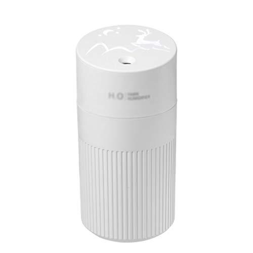 SMEJS Difusor de aroma ultrasónico de 420 ml portátil Difusor de aroma ultrasónico Humidificador de aire recargable con atmósfera Light Coche Mist Mist Maker Home (Color : B)