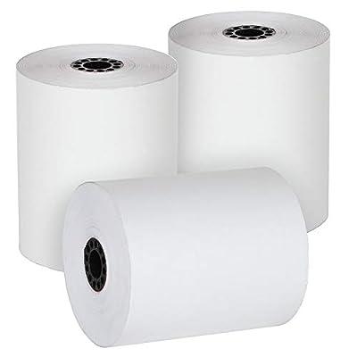 Freccia Rossa Market 3 1/8 x 230 Thermal Register Rolls POS Paper (50 Rolls)
