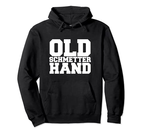 Old Schmetterhand Tischtennis Herren Kinder Geschenk Spruch Pullover Hoodie