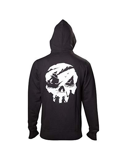 Sea Of Thieves Sweatshirt Skull Logo Hoodie Black