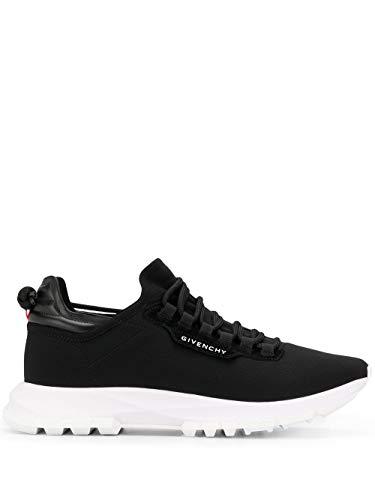 Luxury Fashion | Givenchy Heren BH003AH0N3001 Zwart Elasthaan Sneakers | Lente-zomer 20
