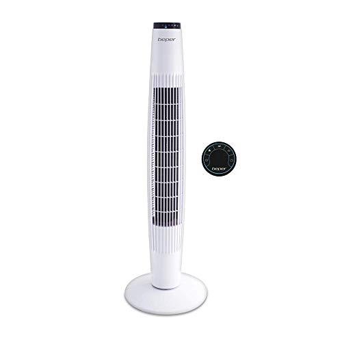 Beper VE.300B Ventilatore a torretta Bianco, plastica