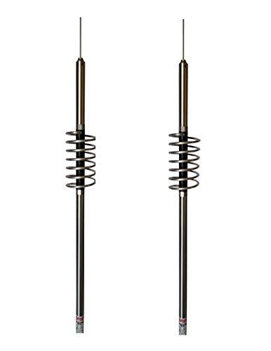 Dual Predator 10K K-1-17 Cowtown CB - Ham Antenna Made in The USA (2 Items)