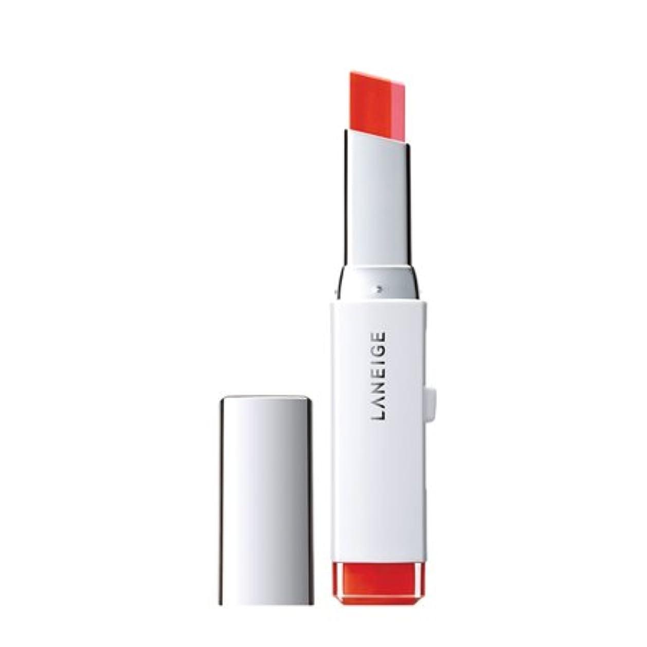 ルート横向きマキシムラネージュ(LANEIGE)ツートーンリップバー(Two tone lip bar)2g カラー:3号 ピンクシャルマン