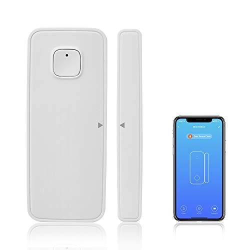 AGSHome WiFi Türsensor   WLAN Tür und Fensteralarm Fernüberwachung mit Smart Life app   ohne Bohren   Batterie-Betrieb   kein Hub erforderlich Smart Home