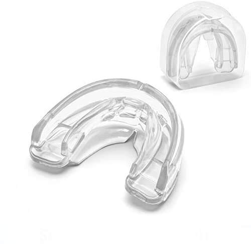 Coolrunner Double Braces Mouth Guard, Mouth Guard Sports, Athletic Mouth Guards, Youth Mouthguard for Upper and Lower Teeth Protection, No Boiling...