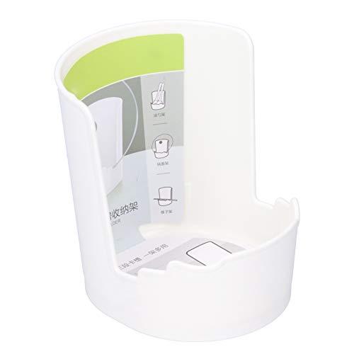 FECAMOS Soporte para Tapa de Olla Soporte para Utensilios de Cocina Recipientes Reutilizables Organizador de Tapa de Olla, para Tapas de Olla Tablas de Cortar Palillos y cucharas Soporte para Tapa