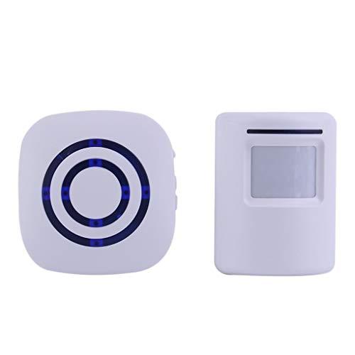 JYDQM Timbre Digital inalámbrico Profesional con Sensor PIR Detector de Infrarrojos Alarma de inducción Timbre de Puerta Seguridad para el hogar Nuevo