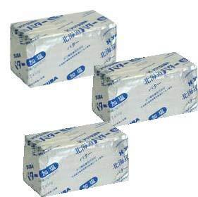 よつ葉バター 加塩 450gx3個セット