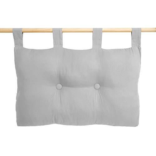 Cuscino per sedia da 45 x 45 cm cuscino rimovibile e traspirante in cotone con passanti