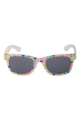 Mountain Warehouse Bali Gafas de Sol para niños - UV 400, filtros de categoría 3, para Verano, Ligeras - para la Playa, días Festivos, pícnics Rosa Talla única