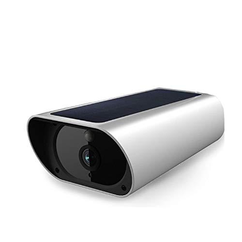 WLAN IP Kamera para Exteriores 100% InaláMbrico 1080p HD BateríA Recargable/WiFi Panel Solar De Seguridad con Audio Bidireccional Ip66 A Prueba De Agua VisióN Nocturna