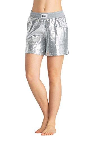 Everlast 26W587Q3 - Pantalones cortos para mujer gris M