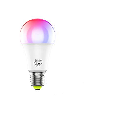 Haikingmoon Bombilla LED Inteligente WiFi Ajustable Lámpara...