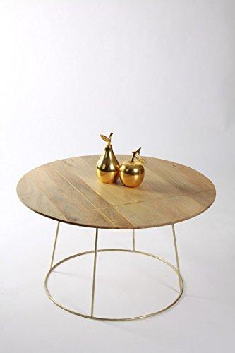 LA PARISIENNE Table Basse Ronde Style Art déco Grand modèle Meuble House