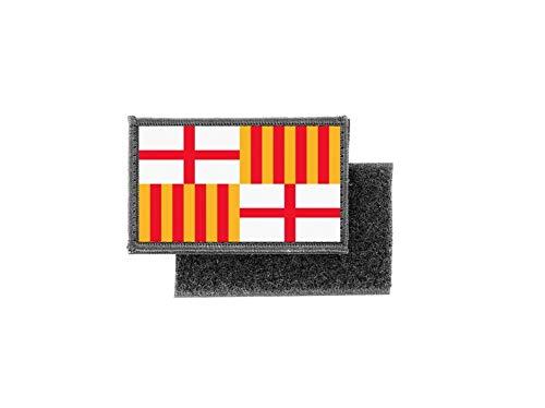 Aufnäher patch aufbügler gedruckt flagge fahne barcelona