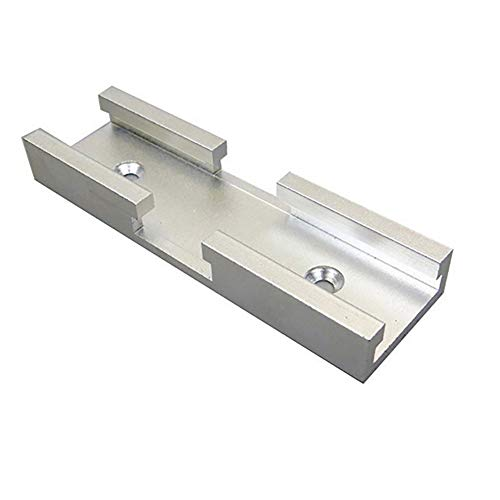 Bongba 30 Typ T-Schiene Aluminium Schlitz Gehrung Schiene Jig Kreuzung Rutsche Holzbearbeitungswerkzeug mit Vorgebohrten Befestigungslöchern für Elektrische Kreissäge Flip Tisch