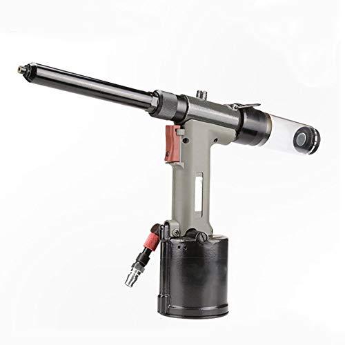 Herramientas neumáticas SN-821LV Pistola Remachadora Neumática, Sección Extendida for Estaciones Especiales, Equipo de Remachado Para reparación de automóviles