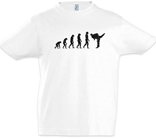Urban Backwoods Karate Evolution Jungen Kinder Kids T-Shirt Weiß Größe 10 Jahre