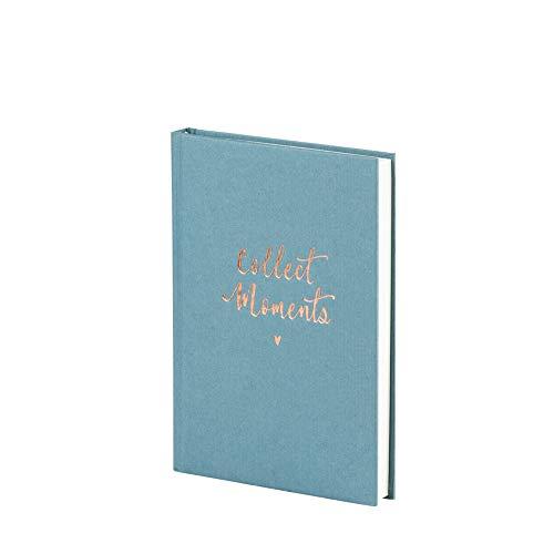 Rössler 18831880001 Bullet Journal Collect Moments - Cuaderno de notas (DIN A5, 192 páginas, a cuadros, 1 unidad), diseño vaquero