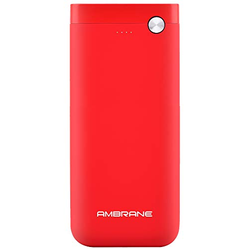 Ambrane PP-20 20000mAH Lithium Polymer Power Bank (Red)
