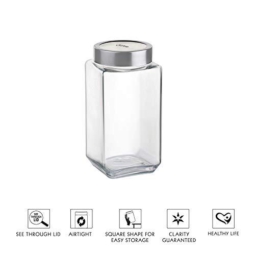 Cello Glass Jar - 1000ml, Clear