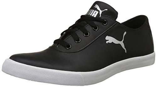 Puma Men's Black Silver Sneakers-9 UK/India (43 EU) (4060978173928)