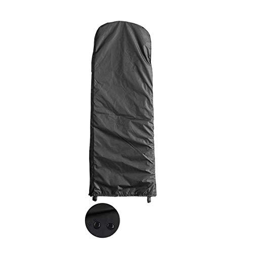 Garden Furniture Cover Folding ladder cover ladder waterproof Breathable Parasol cloth Arc head Flat head, 4 sizes, 4 colors (Color : Pink, Size : 50X154x6.5cm) ( Color : Black , Size : 50x195x6.5cm )