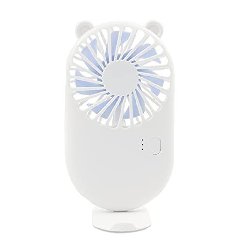 Mini Ventilador de Mano USB con Recargable Hand Fan , Ajustable 3...