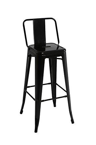Kit Closet sillas y taburetes inductrial, Negro