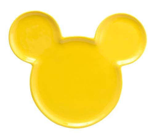 Joy Toy 62133Mickey Mouse Orejas Platos de cerámica, Amarillo