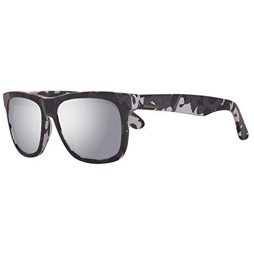 Diesel DL0116 5405C Sonnenbrille DL0116 5405C Rechteckig Sonnenbrille 54, Grau