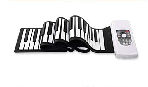 88 hand-knop van het rolplank, milieuvriendelijk, zachte versie, draagbaar, opvouwbaar, voor beginners, elektronische piano