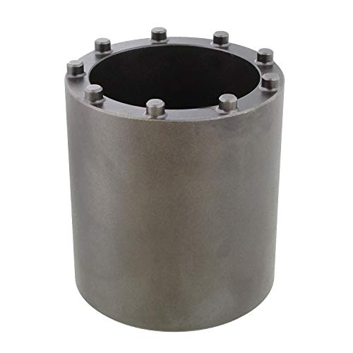 ABN Axle Bridge Nut Socket, 1pc - 1/2in Axle Nut Socket Set, Spindle Nut Socket Set Axle Nut Tool Compatible with GM