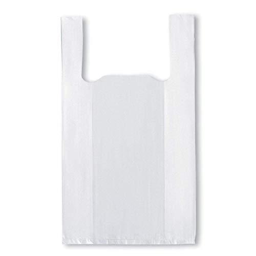 Cobo Bolsa Blanca Camiseta 50 x 60 cm. Galga 200. Envase de 80 Unidades