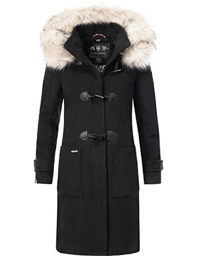 Navahoo Damen Winter Mantel Winterparka Oksana Schwarz Gr. XXL
