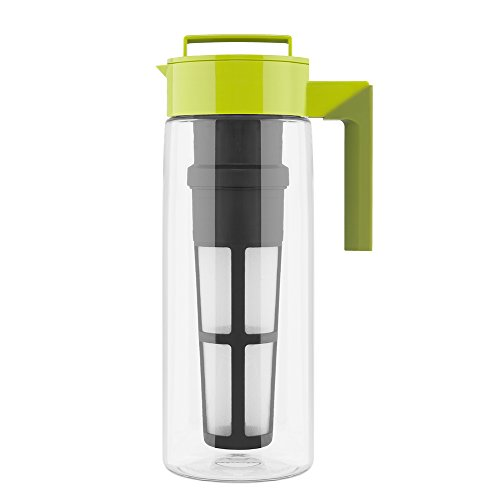 Great Features Of Takeya Iced Tea Maker with Patented Flash Chill Technology Made in USA, 2 Quart, A...