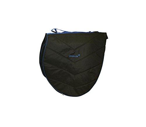 Dublin Imperial Sattel-Tasche (Einheitsgröße) (Schwarz/Blau)