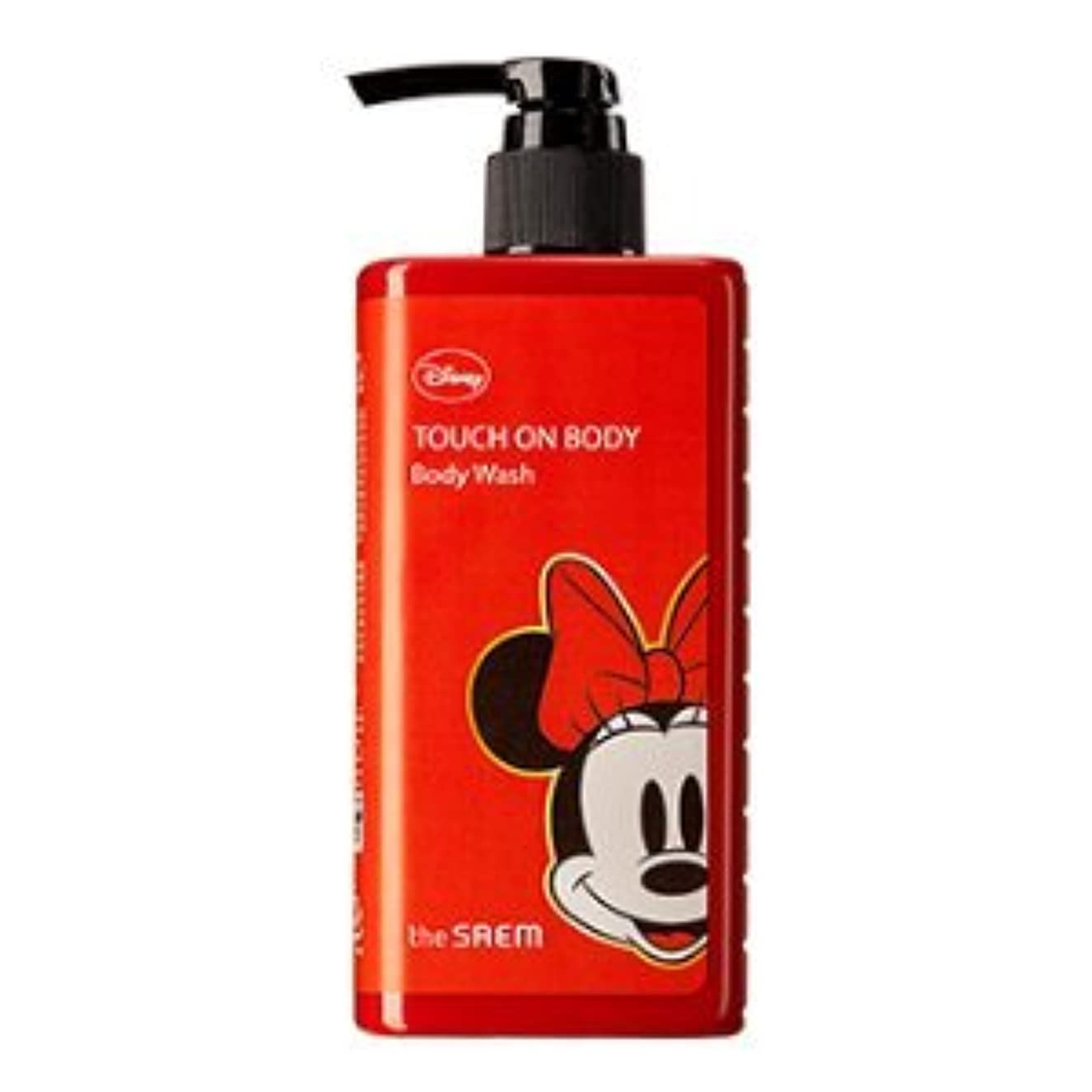 排気東七時半(The Saem X Disney )Touch On Body Acerola Body Wash 300ml / ザセム タッチオンボディーアセロラボディーウォッシュ (ディズニーエディション) [並行輸入品]