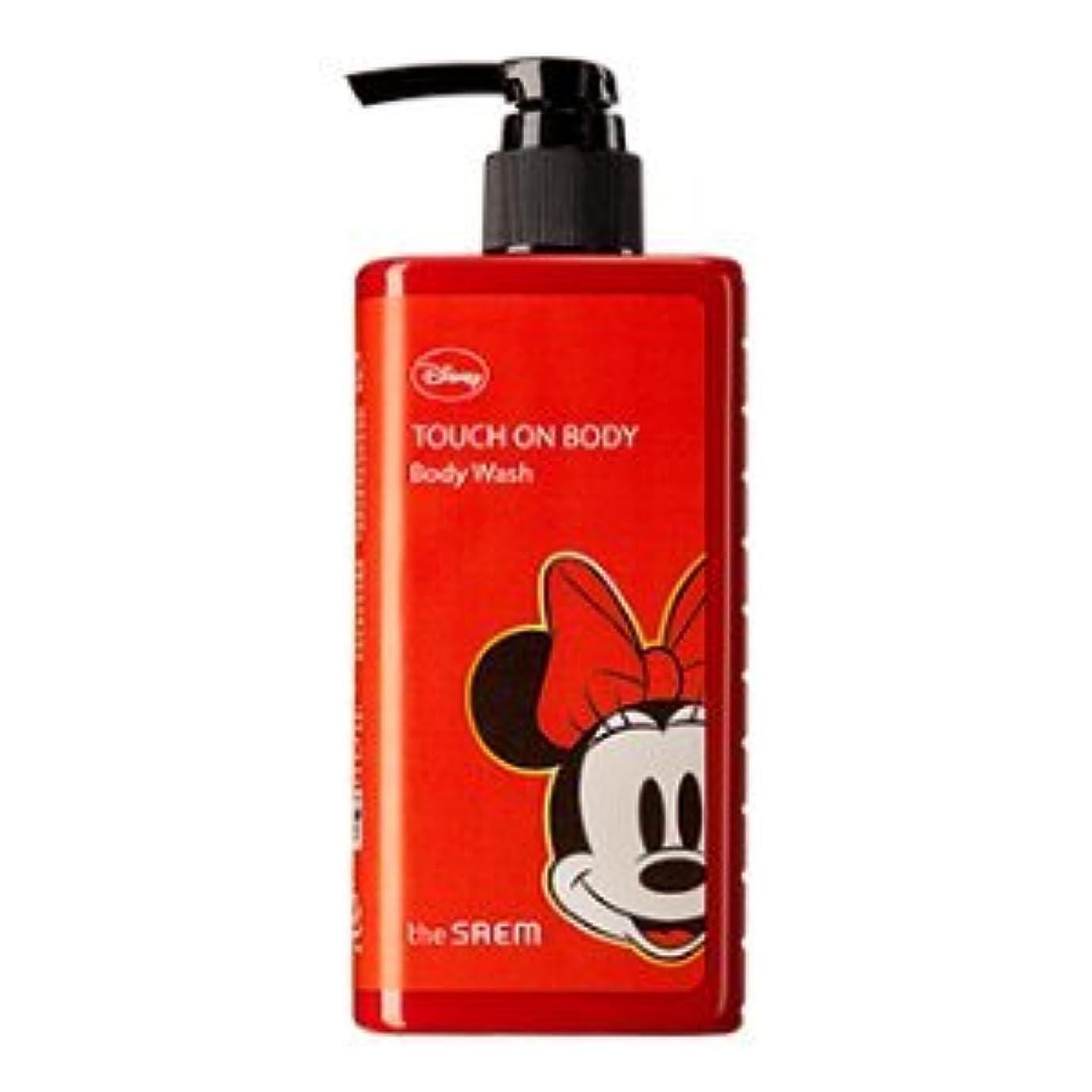 固執チロ建築家(The Saem X Disney )Touch On Body Acerola Body Wash 300ml / ザセム タッチオンボディーアセロラボディーウォッシュ (ディズニーエディション) [並行輸入品]