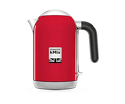 KENWOOD ZJX650RD Wasserkocher kMix 2200 Watt, Metall, 1 Liter, rot